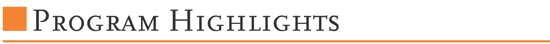 programme-highligts